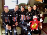 Jelly Belly hosted Vanderkitten-Focus on the Team Bus each day of Redlands Classic... lucky + fun!!!!